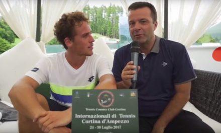 CHALLENGER CORTINA 2017, CARBALLES BAENA E' IL PRIMO FINALISTA DEL TORNEO ATP