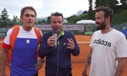 CHALLENGER DI CORTINA 2017, EVENTO TIE BREAK VIP CON MELOCCARO DI SKY SPORT, GIP DE LE 'IENE' E TANTI ALTRI